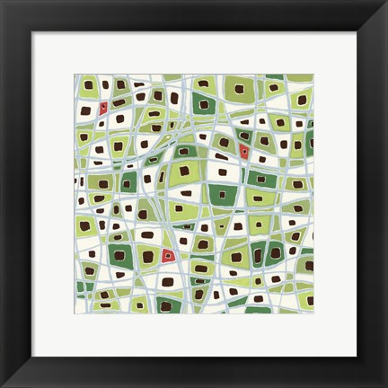 Framed Greenery Print