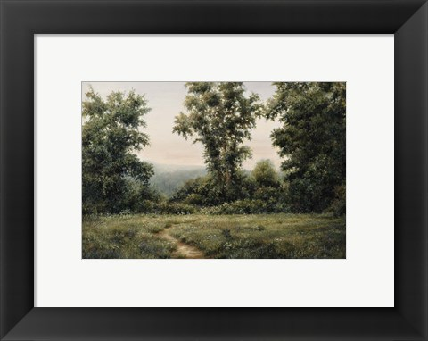 Framed Vermont Meadow Print