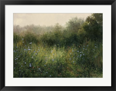 Framed Dorset Wildflowers 4 Print