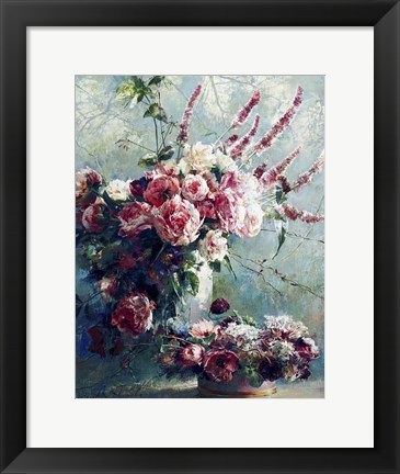 Framed Peonies of May Print