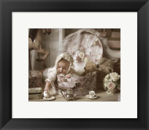Framed Victorian Baby Print