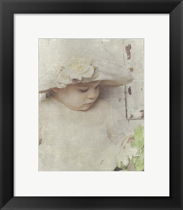 Framed Victorian Baby 2 Print