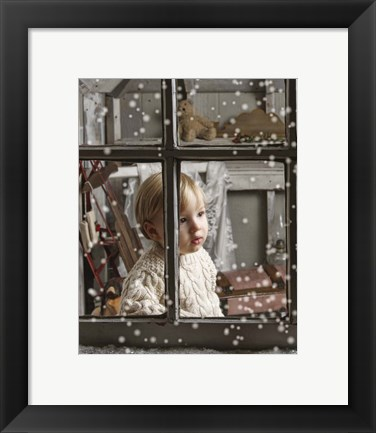 Framed Is that Santa? Print
