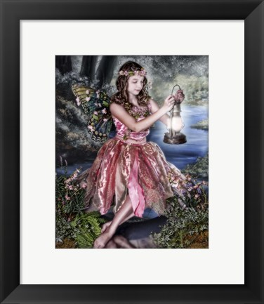 Framed Dusk Fairy Print