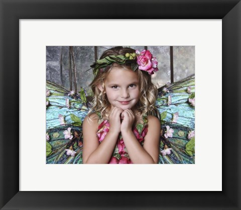 Framed Beautiful Fairy Print