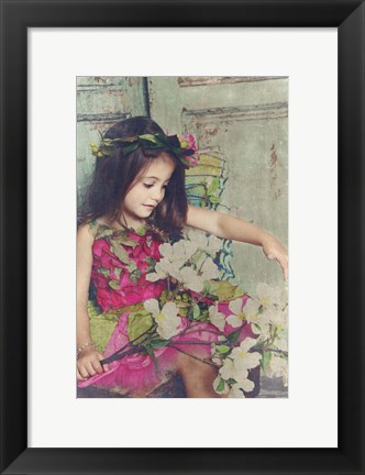 Framed Colorful Fairy Print