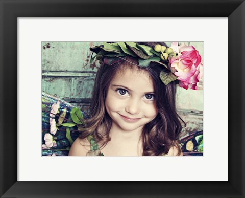 Framed Beautiful Eyes Print