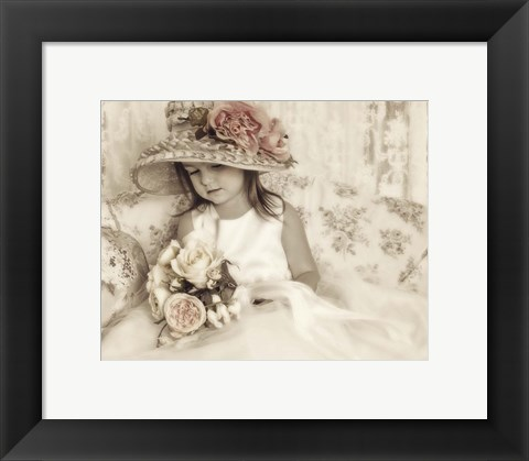 Framed Angelic Child Print