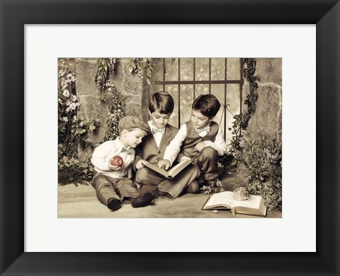 Framed Brothers Print