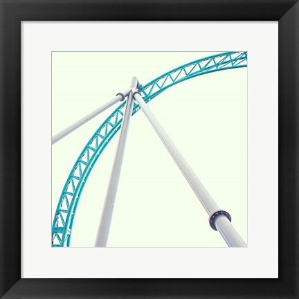 Framed Coaster Corners Print