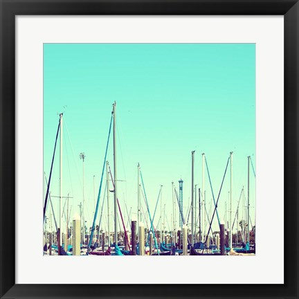 Framed Docked Print