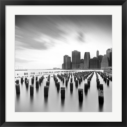 Framed Manhattan Skyline 2 Print
