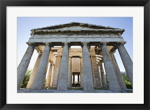 Framed Anicent White Collaseum Print