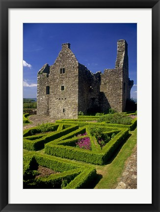 Framed Old Stone Castle Print