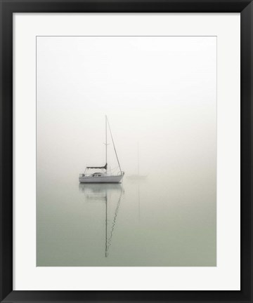 Framed Sailboats Print
