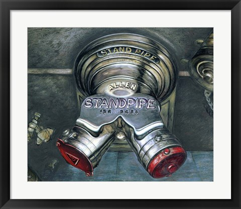 Framed New York Standpipe Print