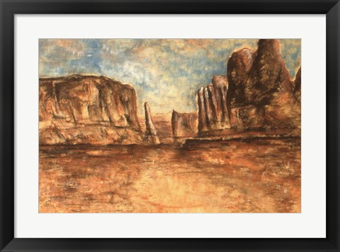 Framed Red Rock Country Print