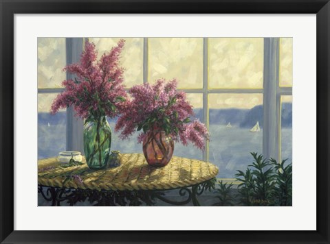 Framed Fresh Lilacs Print
