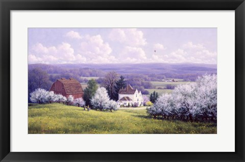 Framed Spring Breeze Print