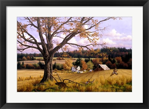 Framed Crisp Fall Day Print