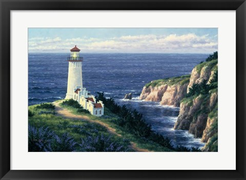 Framed North Head Lighthouse Print