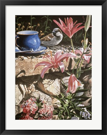 Framed Coffee Cup Print