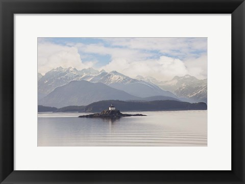 Framed Eldred Rock Lighthouse, Alaska 09 Print