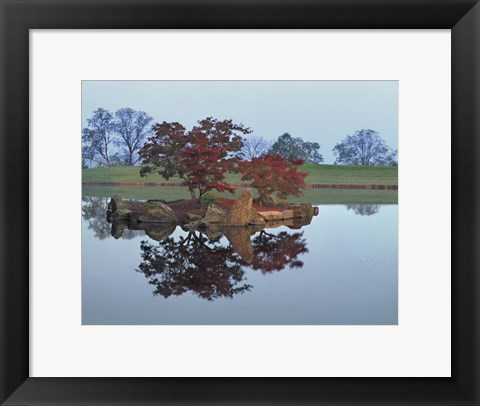 Framed Reflections #2, Hocking Hills, Ohio 92 Print