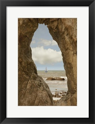 Framed Ruby Beach, Washington St. 09 Print