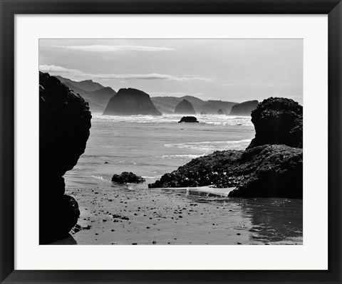 Framed Canon Beach #2 Print