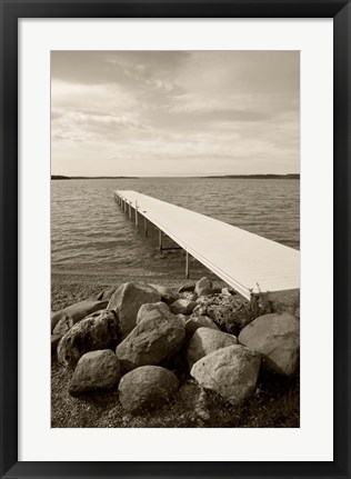 Framed On the Lake 2 Print