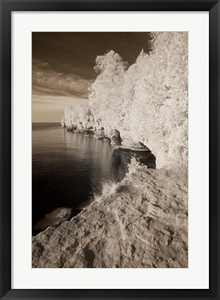 Framed On the Water's Edge Print