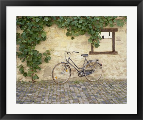 Framed Bicycle, Turckheim, France 99 Print