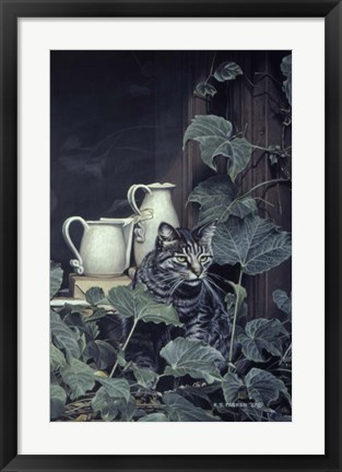 Framed Window Sill Print