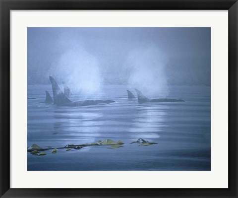 Framed Lifting Fog Print