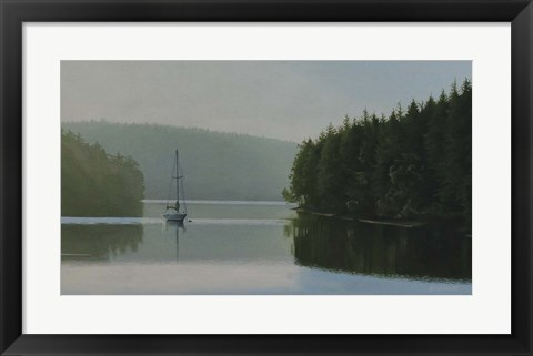Framed Calm Morning Print