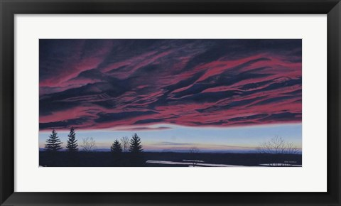 Framed Chinook Arch Print