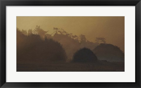 Framed Golden Mist Print