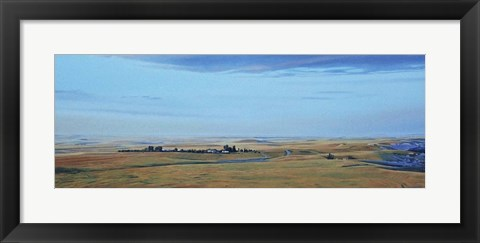 Framed Prairie Evening Print