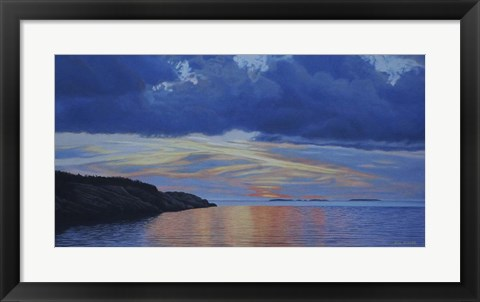 Framed Uplands Dawn Print