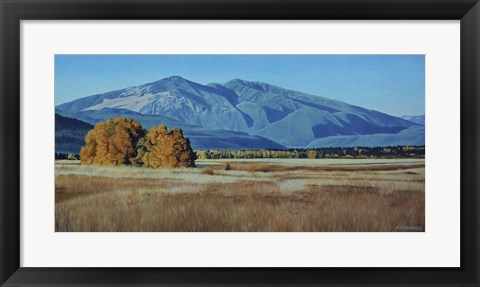 Framed Wycliffe Autumn Print