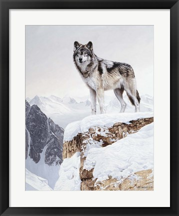 Framed Snow Bound Print