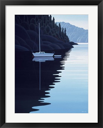 Framed Tranquil Cove Print