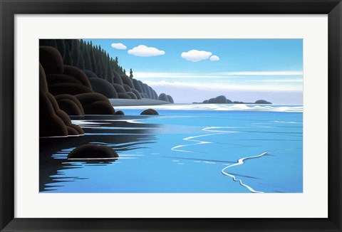 Framed Bright Water Print