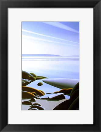 Framed Coastal Pool Print