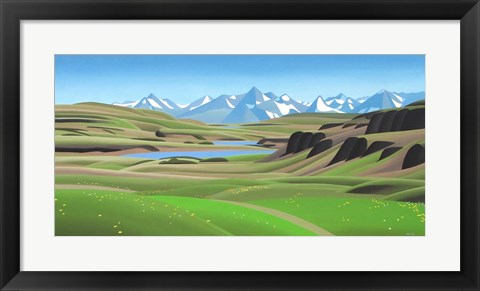 Framed High Country Print