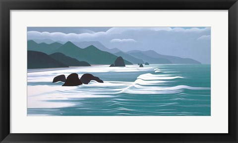 Framed Pacific Coast Print