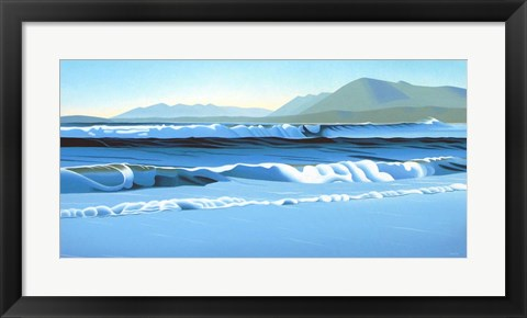 Framed Pacific Surf Print