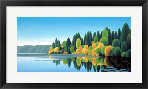 Framed Prospect Lake Print
