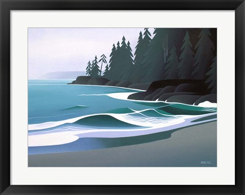 Framed Sandy Cove Print